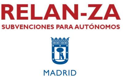 Plan Relanza del Ayuntamiento de Madrid